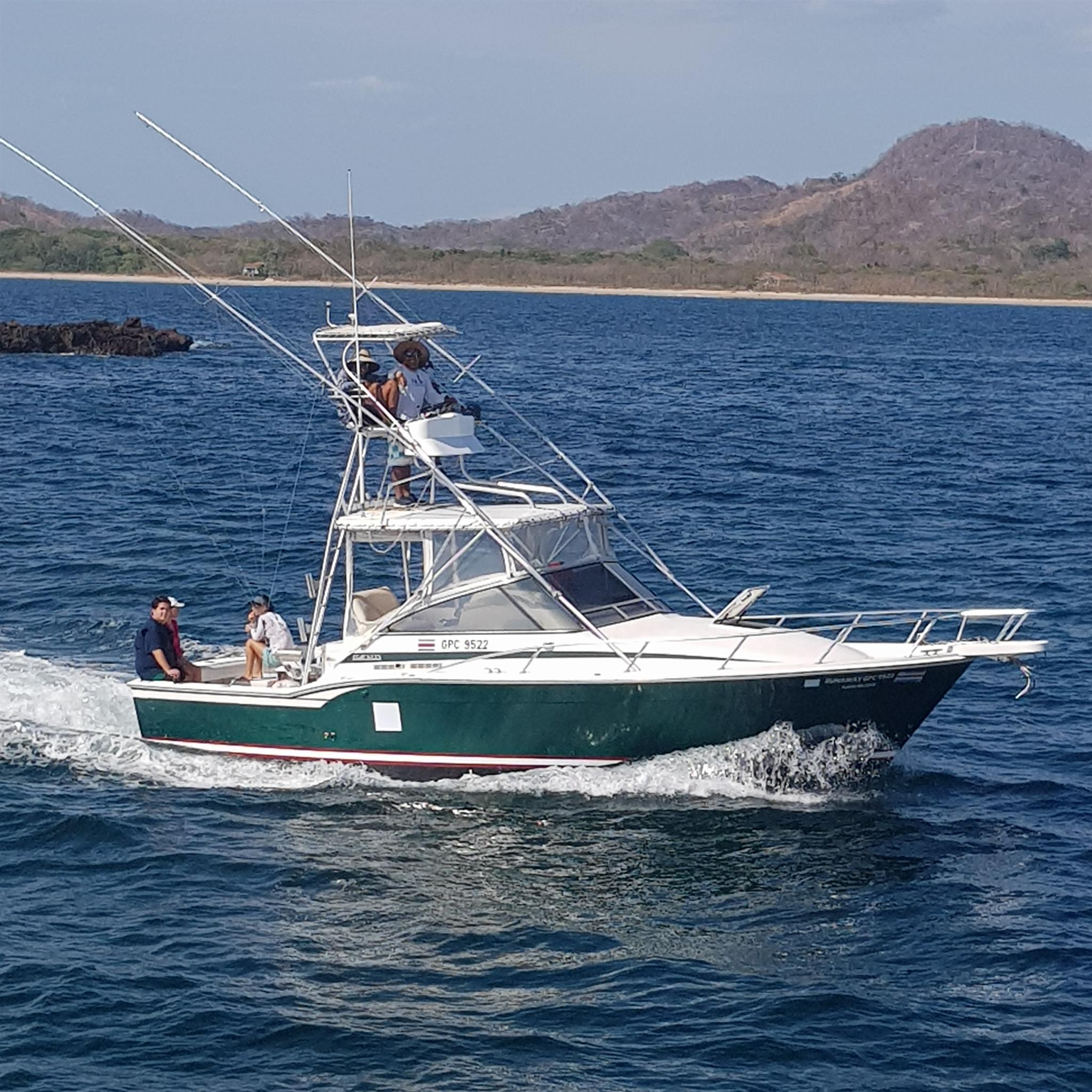 Costa rica fishing kingpin sportfishing in tamarindo for Tamarindo costa rica fishing
